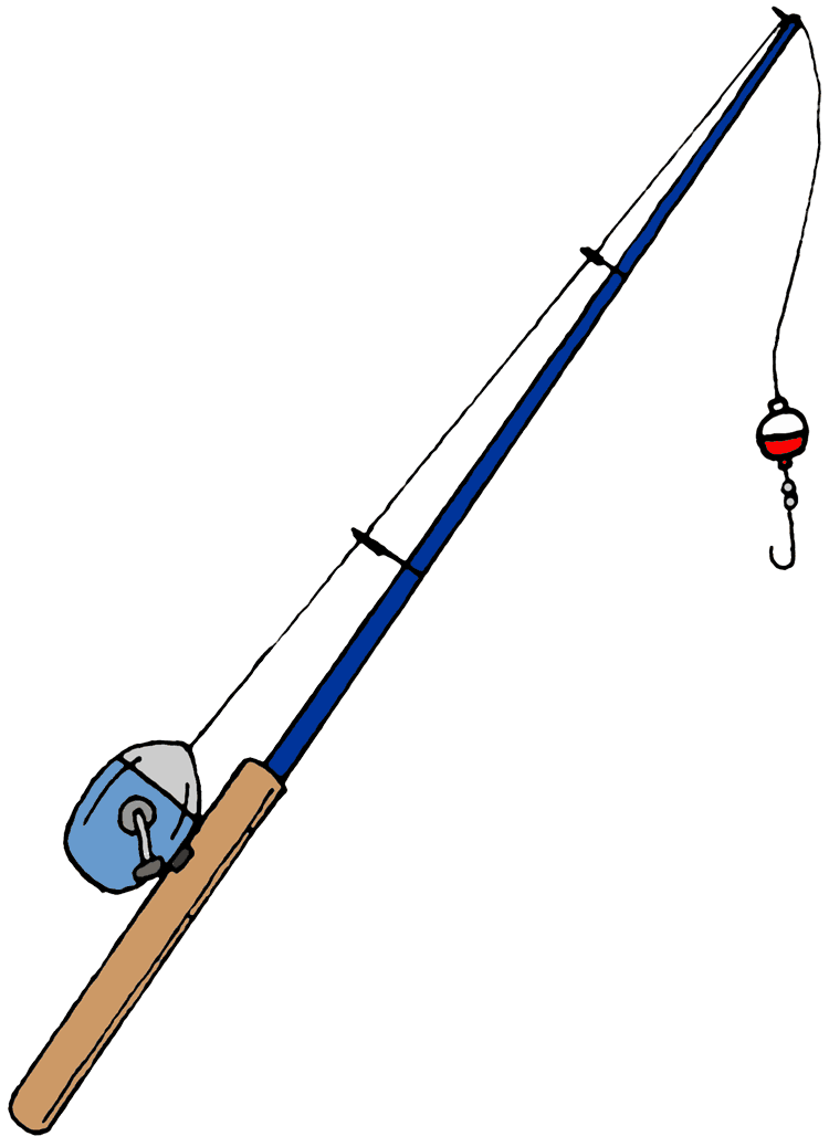 graphic free library Fishing Pole