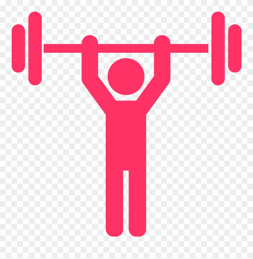 banner royalty free library Strength clipart. Fitness and conditioning icon