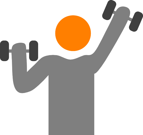 jpg download Weight Lifter Clip Art at Clker