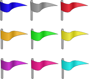 banner free download Castle flag . Flags clipart.