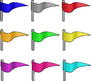 picture transparent download Flag clipart. Castle