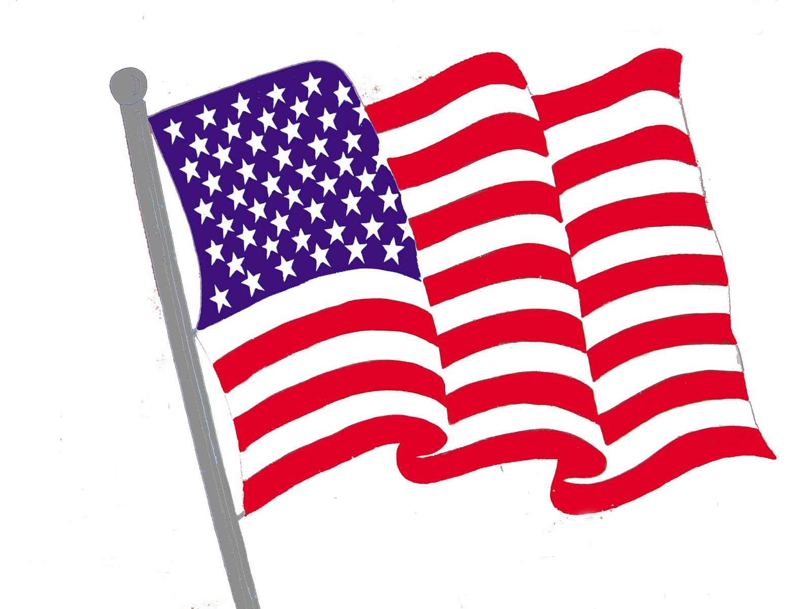 picture freeuse stock American clip art free. Flag clipart.