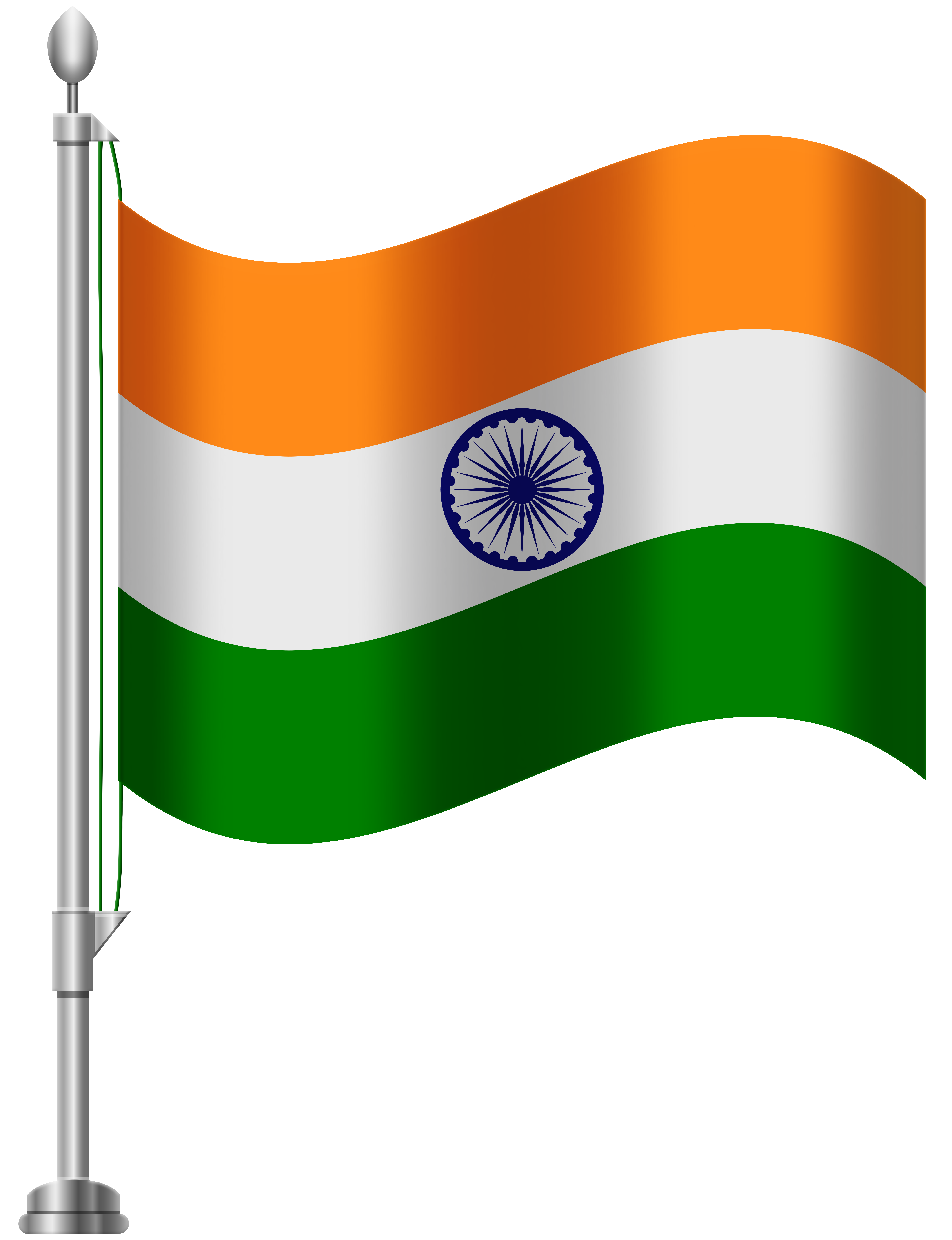 jpg black and white stock Flag clipart. India png clip art