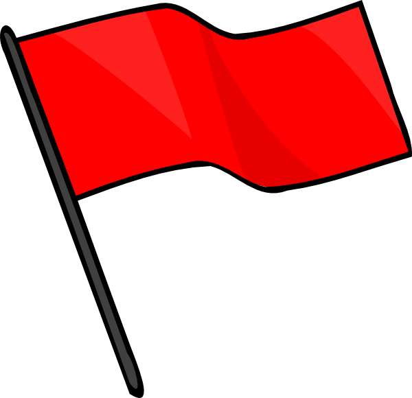 clip freeuse stock Capture the red clip. Flag clipart.