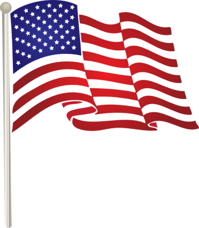 banner royalty free library Flag clipart. Download american free png.