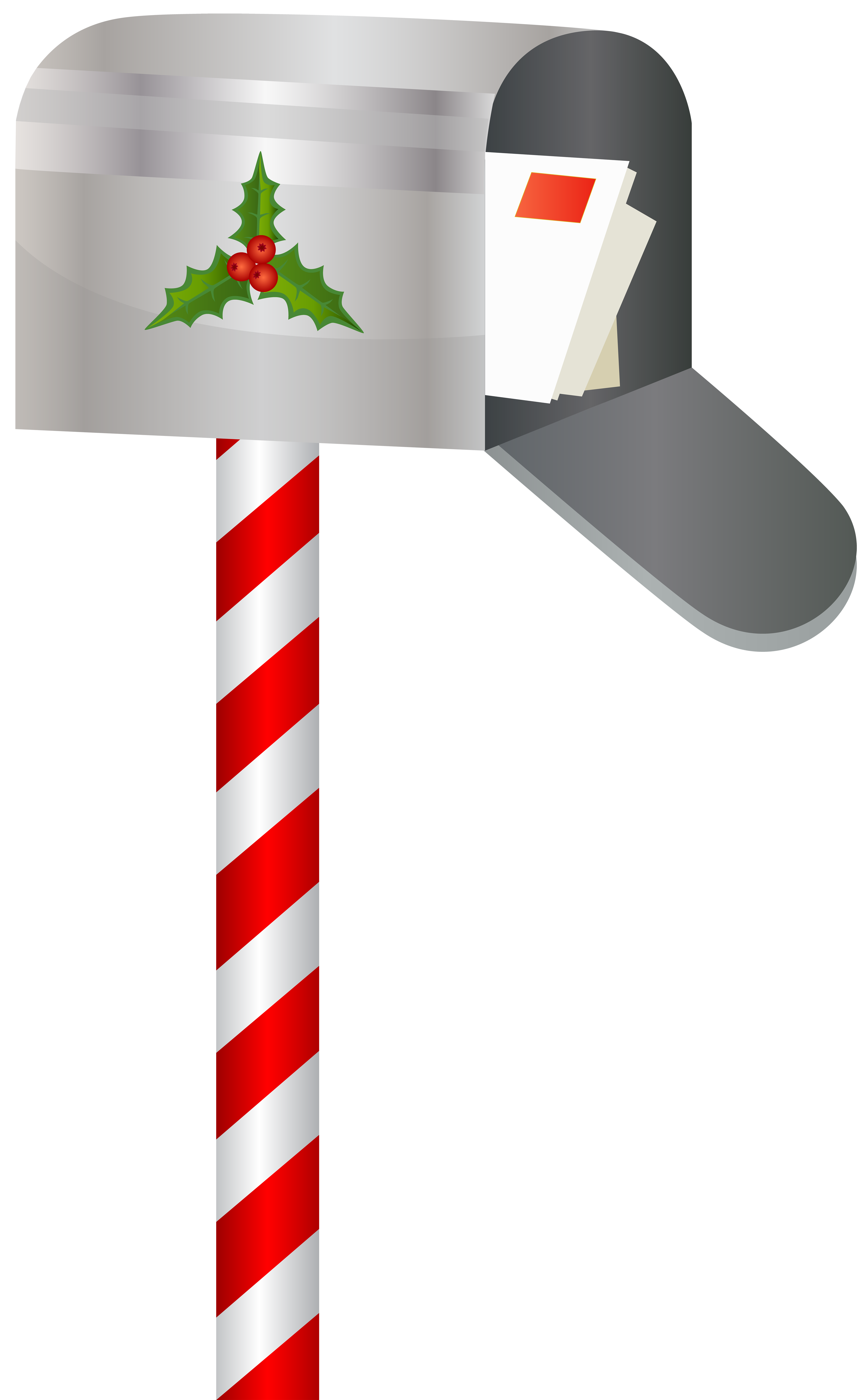 png library download Christmas mailbox png clip. Clipart mail box