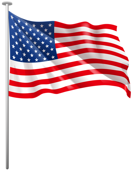 png transparent stock USA Waving Flag PNG Clip Art Image