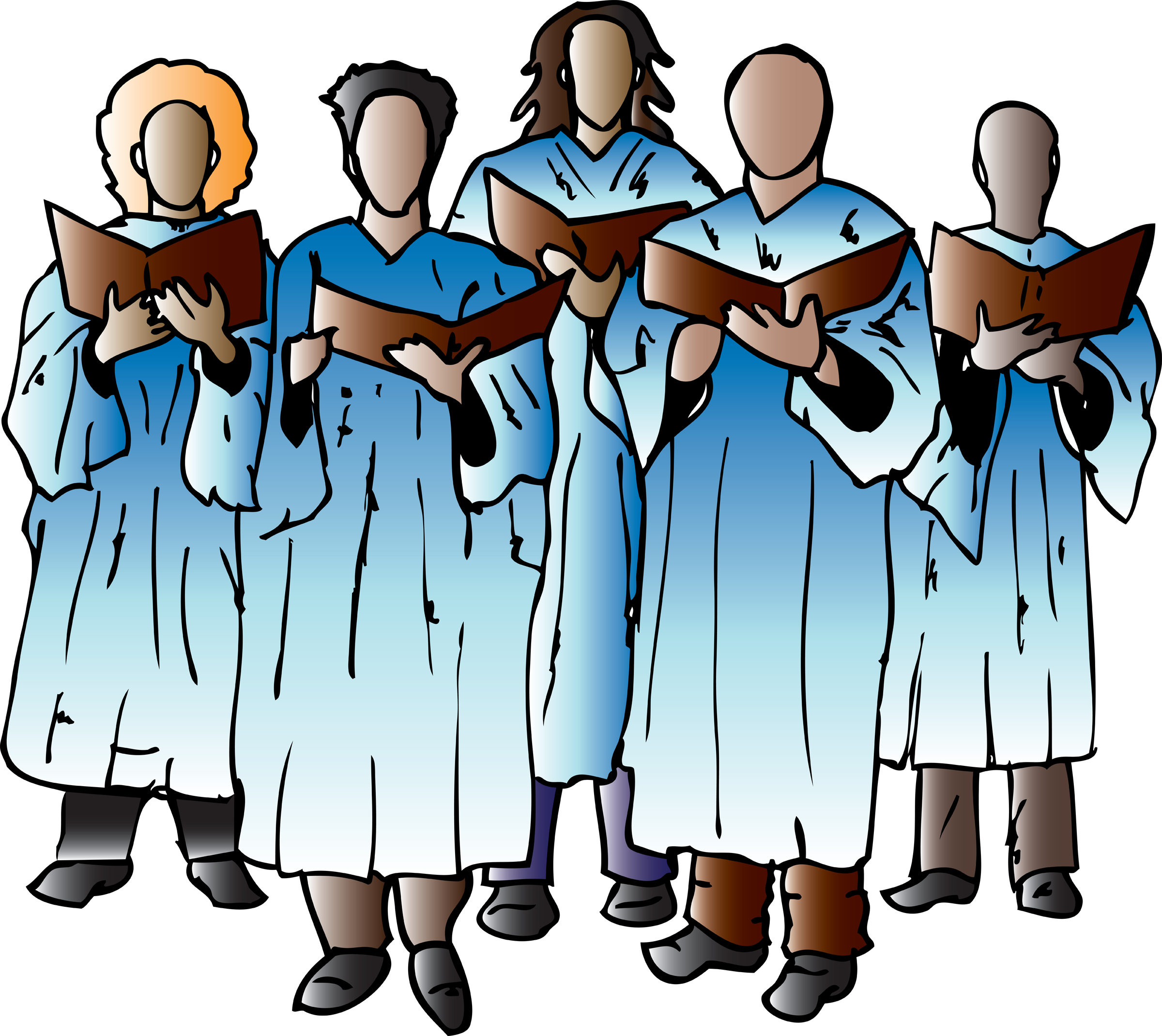 clipart freeuse library Sign flag church free. Youth clipart speech choir