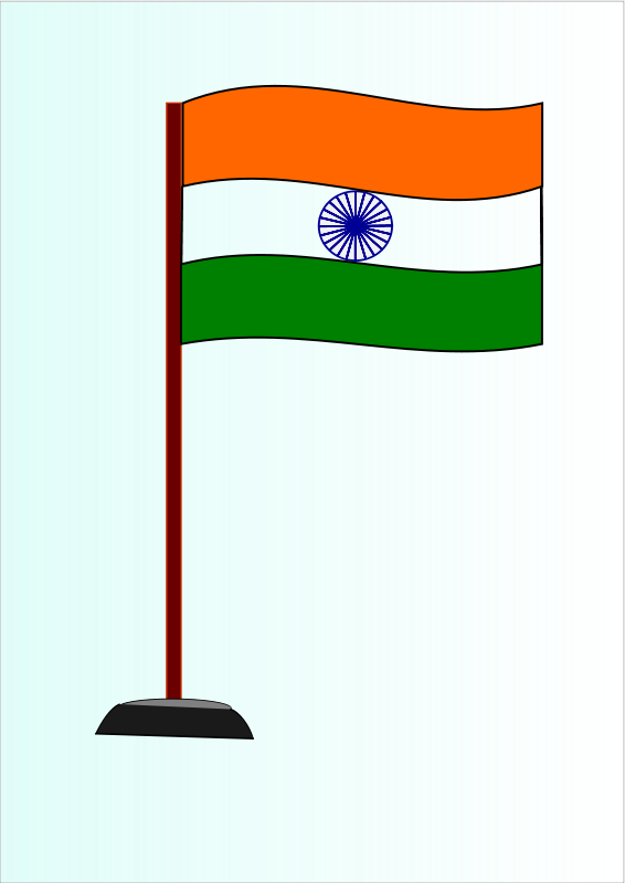 graphic library stock Flag of drawing at. France clipart india gate