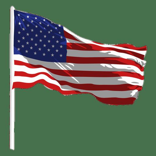 transparent Usa svg memorial day. United states waving flag