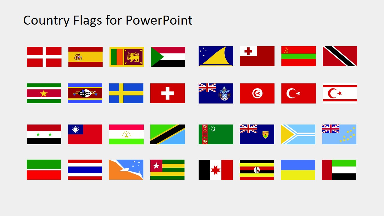 jpg black and white library Country for powerpoint s. Flags clipart.