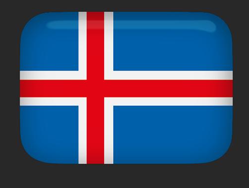 image royalty free stock Free Animated Iceland Flags
