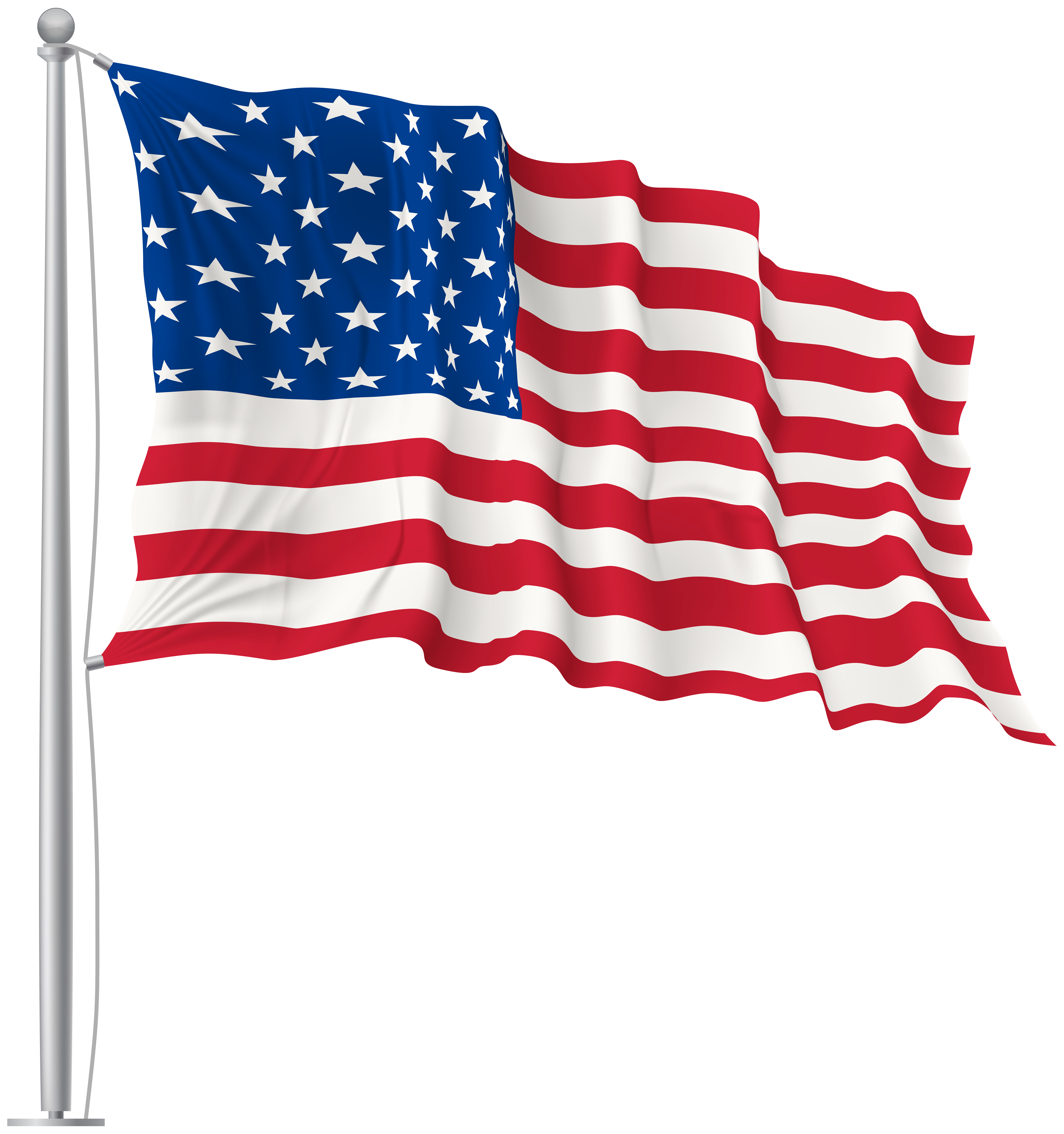 clip art free stock Flags clipart transparent background. Flag of the united.