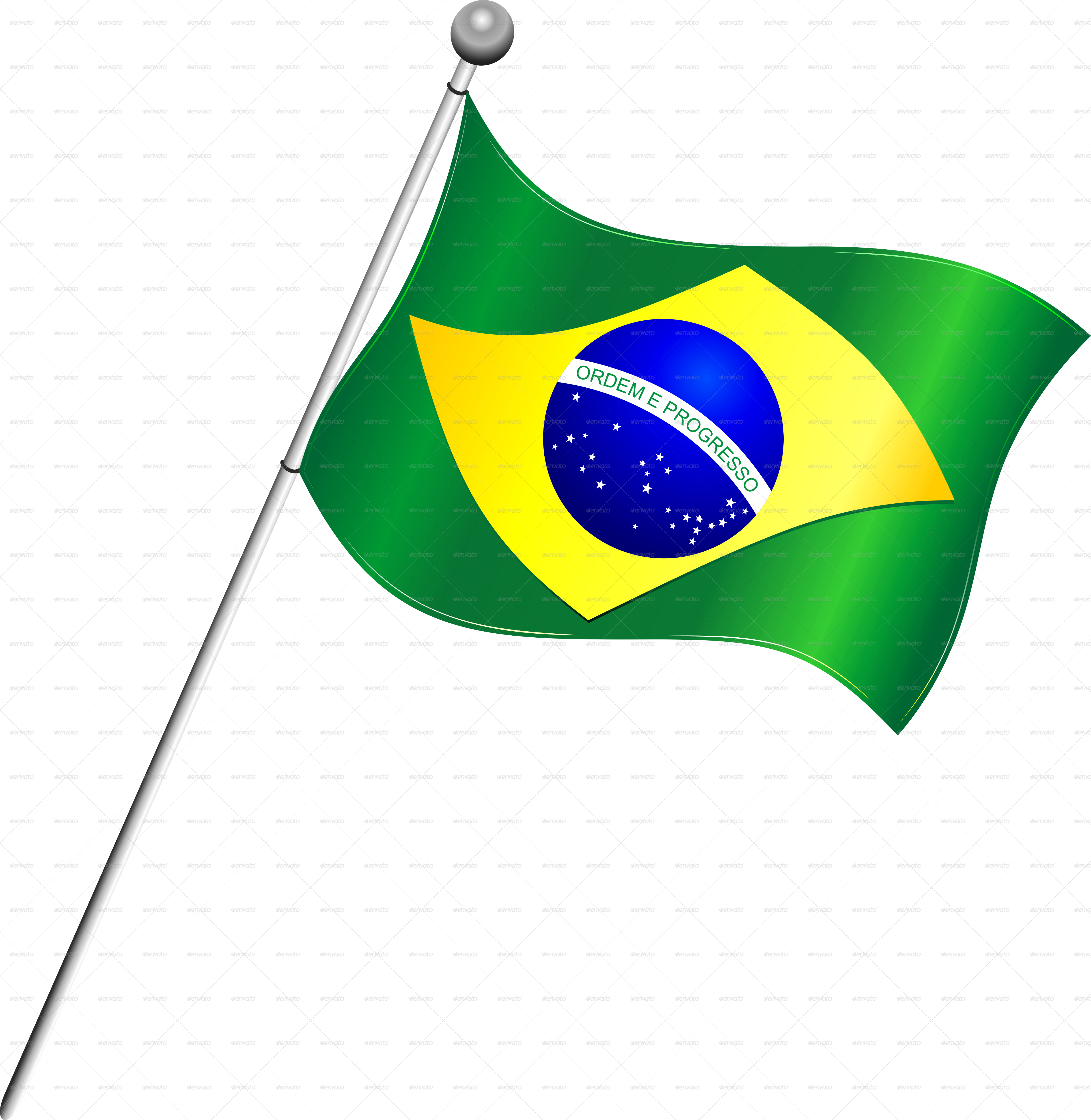 jpg black and white Brazil flag png mart. Flags clipart transparent background.