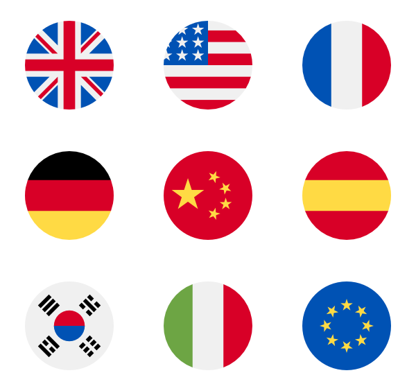 transparent download Flag icons free. Vector flags