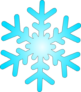 image black and white stock Blue Snow Flake Clip Art at Clker