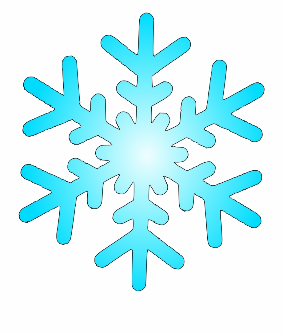 svg download Flake clipart. Snow within winter snowflake