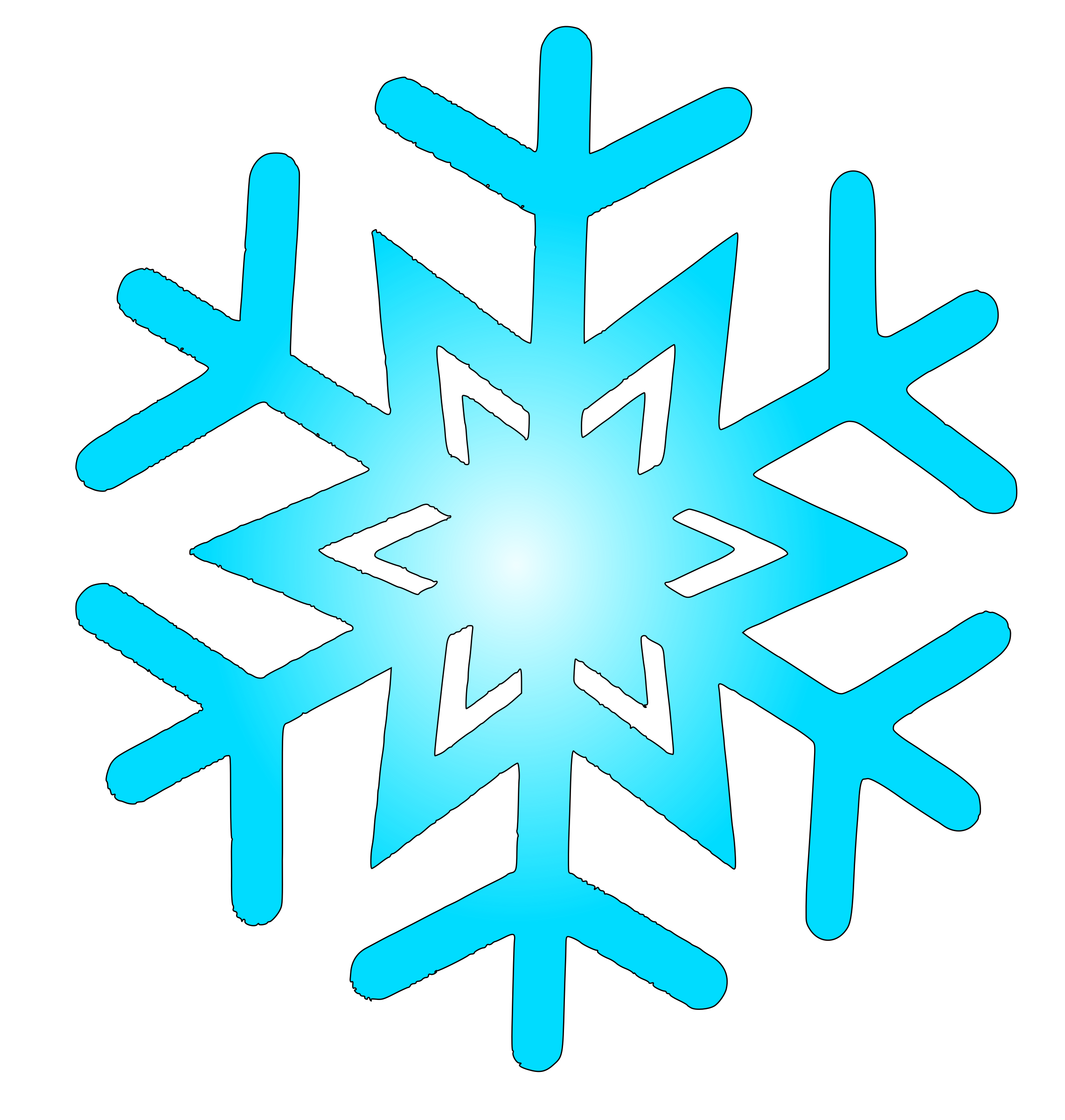 vector download Flake clipart. Snow big image png