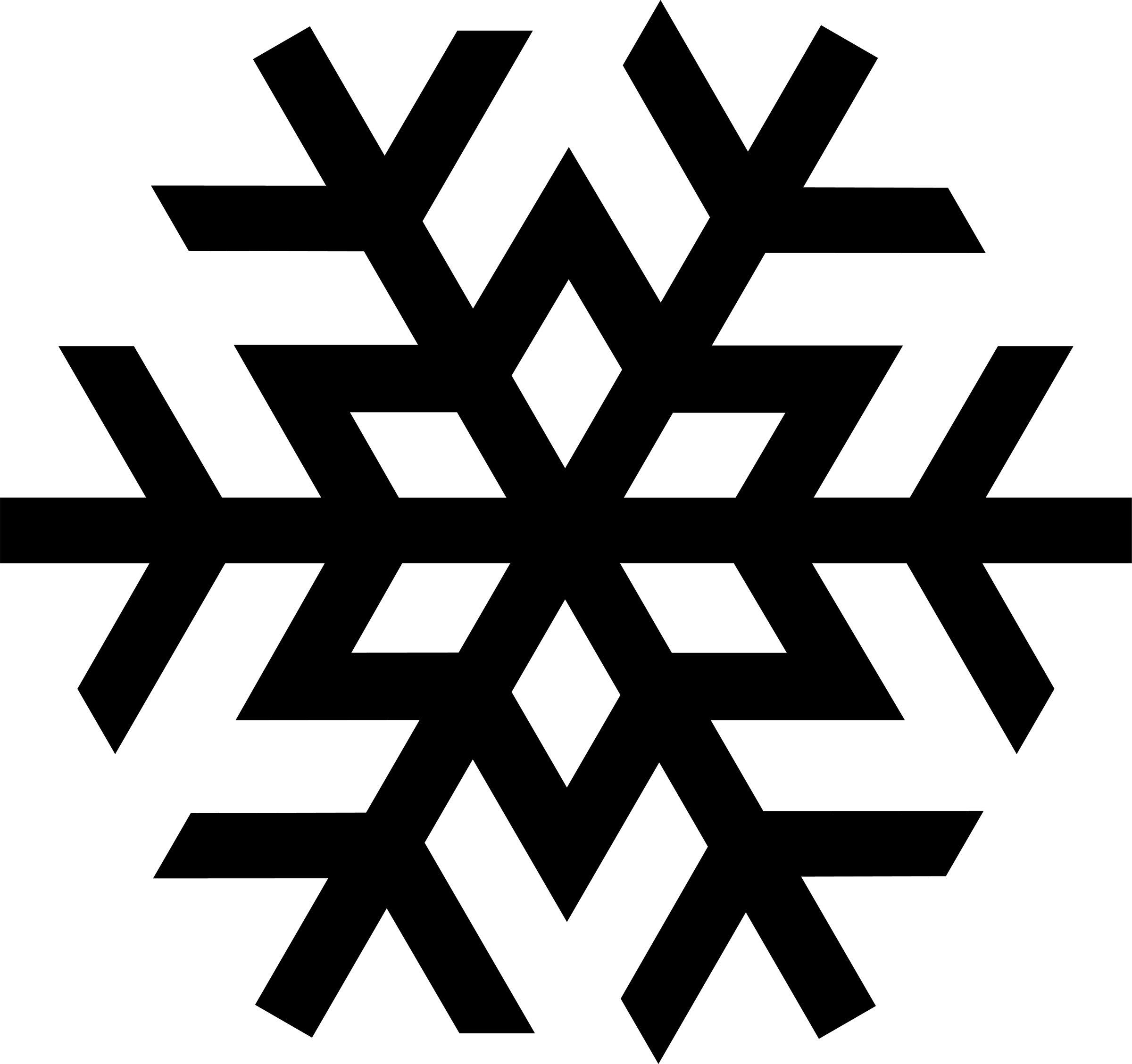 jpg transparent Flake clipart simple snowflake. Free clip art images
