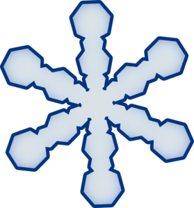 svg black and white Flake clipart simple snowflake. Clip art at clker