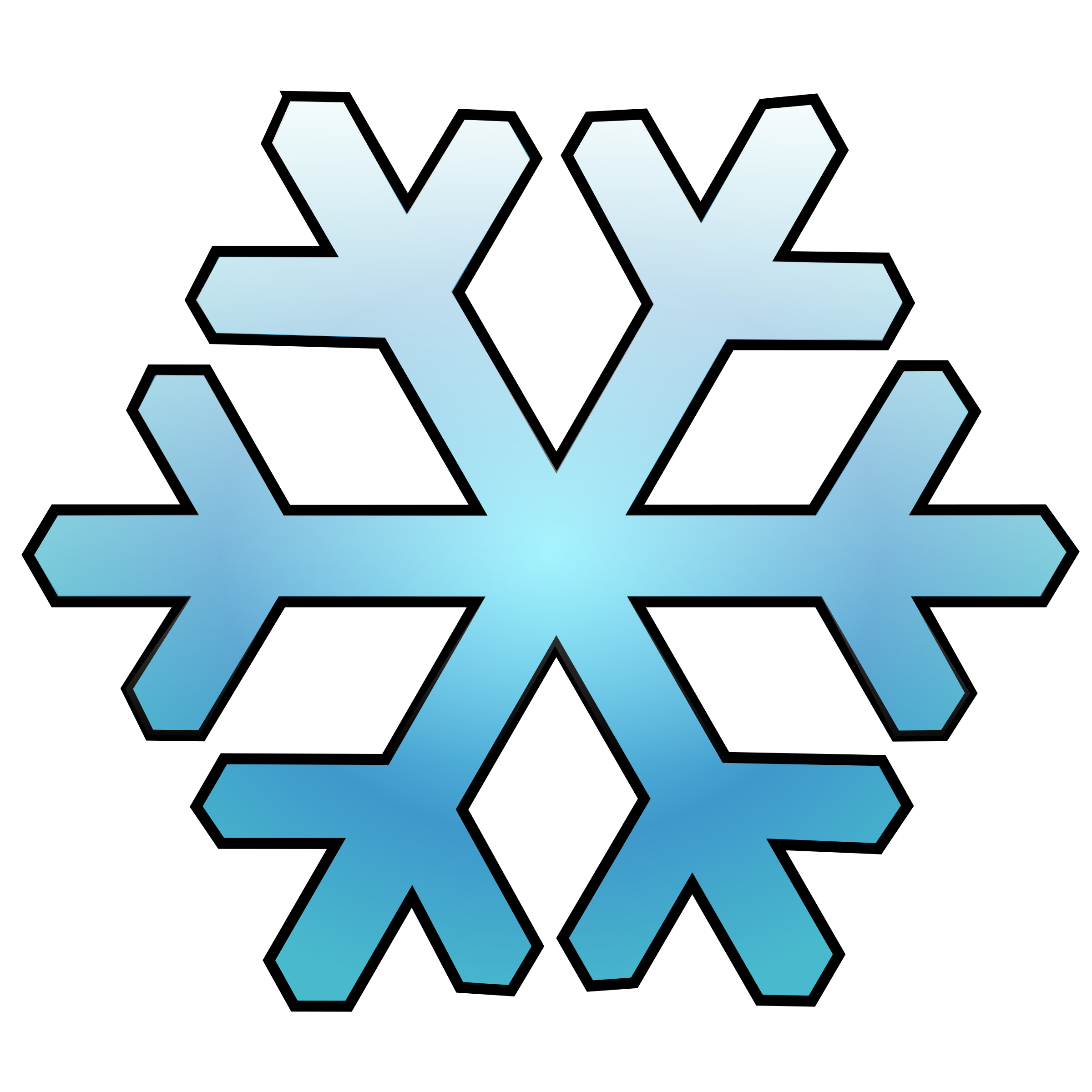 clip free library Flake clipart simple snowflake. By bocian a blue