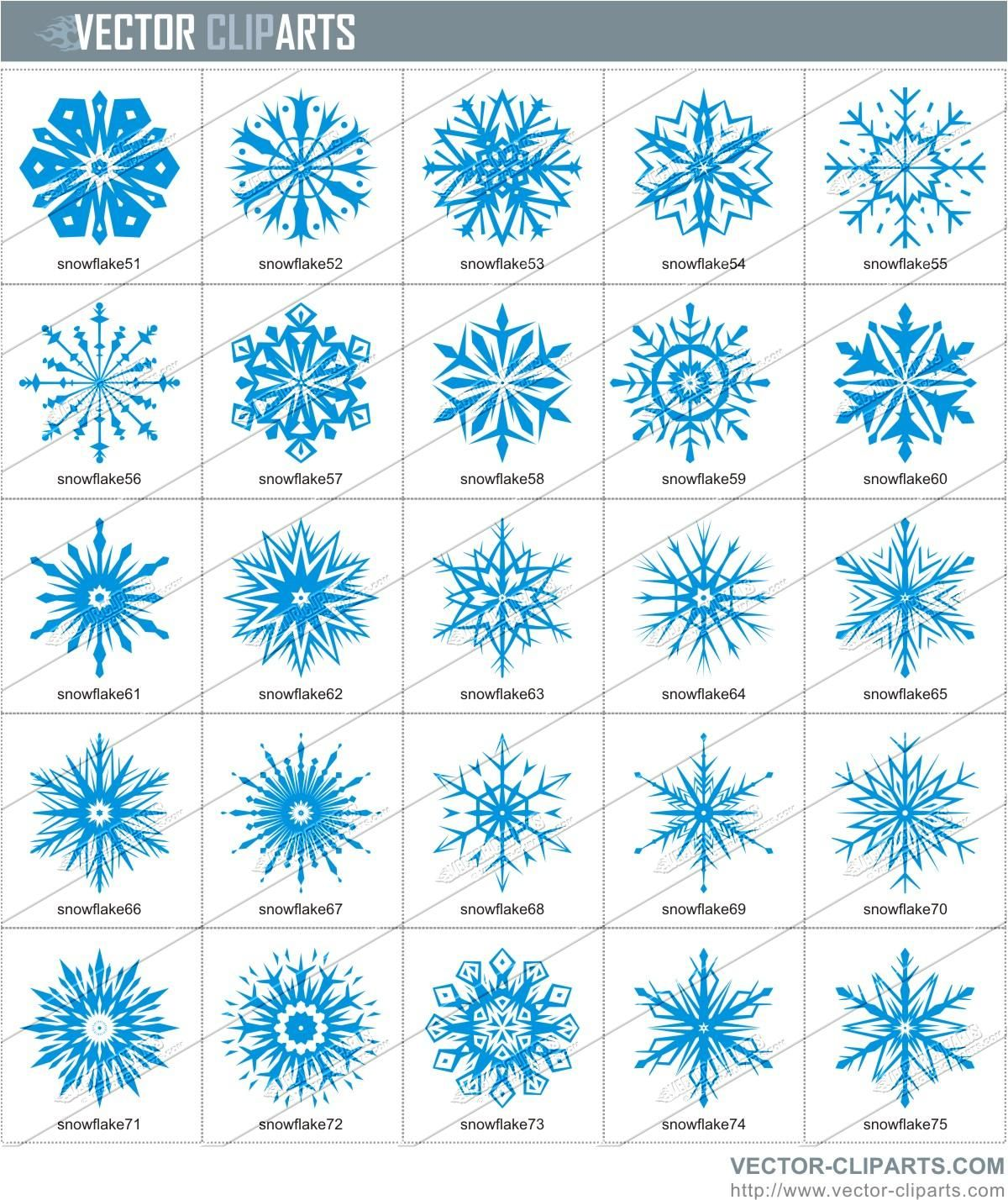 svg library Snow flakes clip art. Flake clipart simple snowflake
