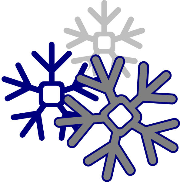 svg transparent stock Edited Snowflake Clip Art at Clker