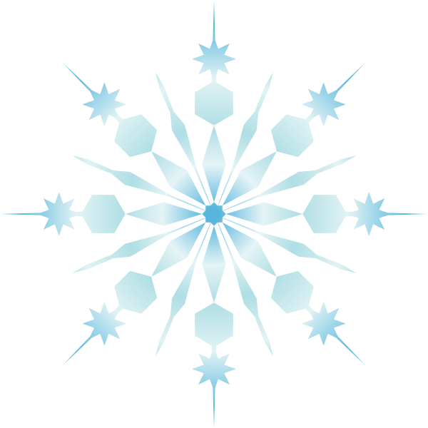 clip art free download Snowflake clipart borders. Clip art at clker