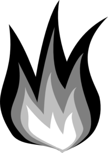 vector library stock Flames clipart black and white. Fire clip art at.