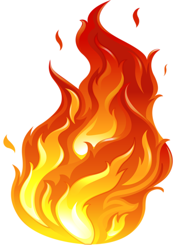 banner free vector letter flame #118215820
