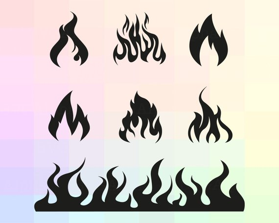 clip art transparent download Flames svg. Pin on products .