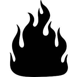 vector free stock Fire elijah prophets of. Flame svg silhouette