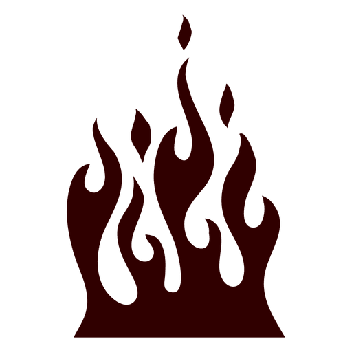 jpg royalty free download Burning fire icon transparent. Flame svg silhouette