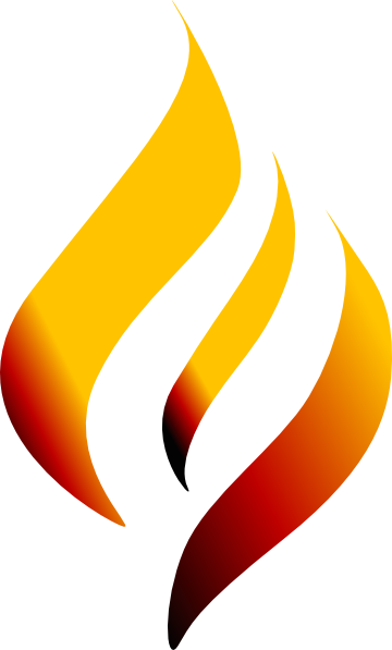banner transparent flaming torch clipart #67951306