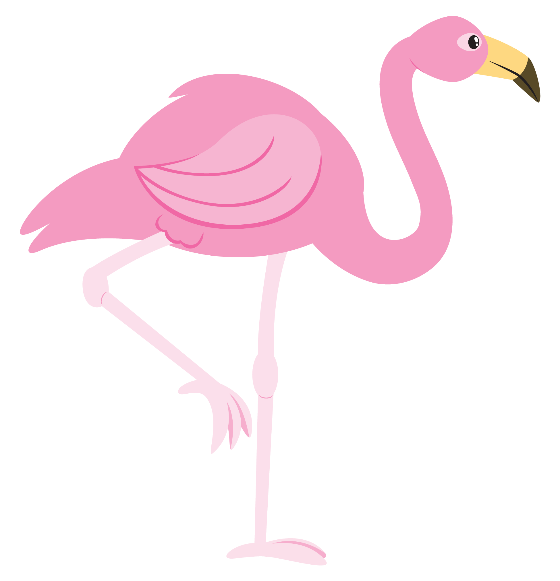 clipart transparent download Pink Flamingo Cartoon Clipart