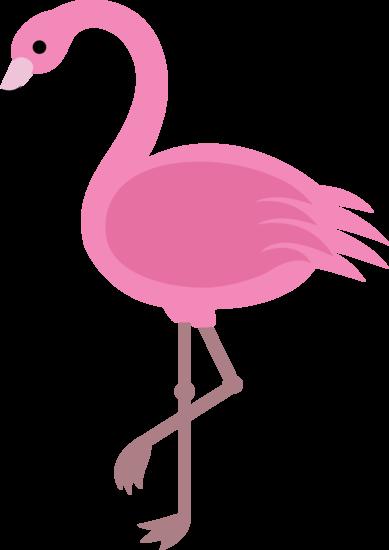 png free Elegant pink clip art. Flamingo clipart exotic bird.
