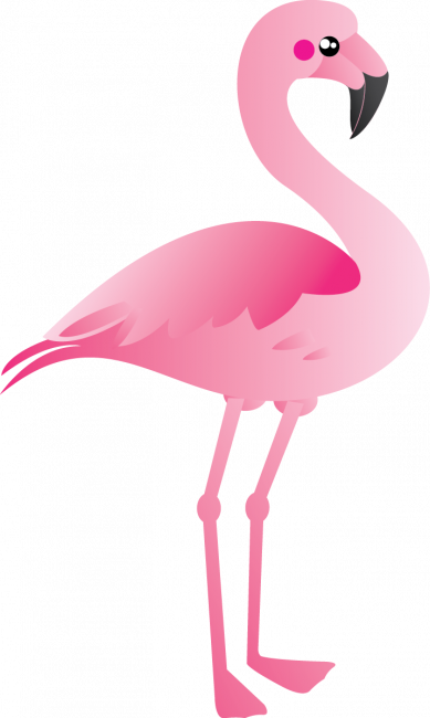 picture royalty free download Flamingo Clipart