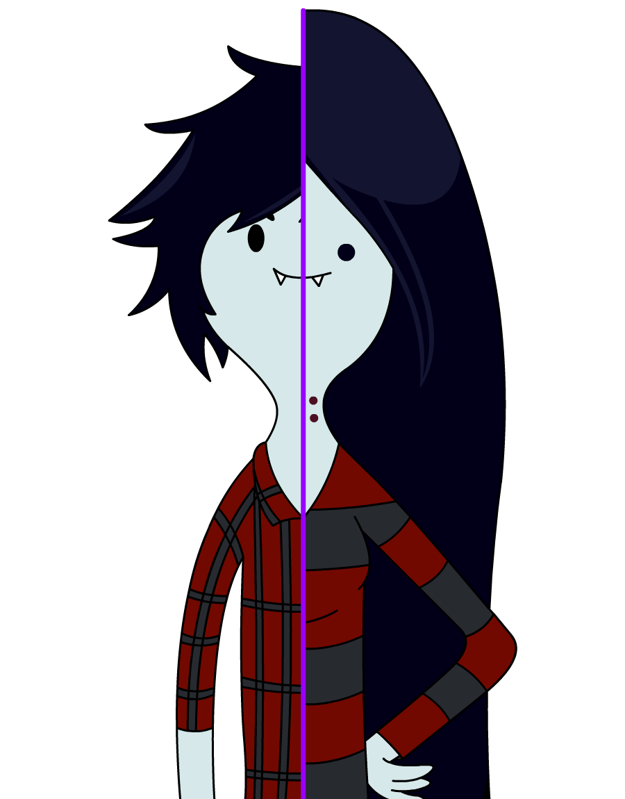 vector freeuse stock Marceline drawing hipster. And marshall lee adventure