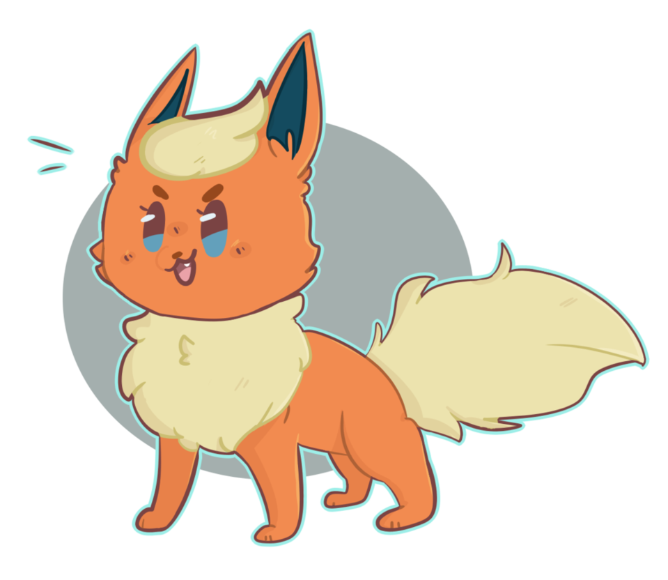 svg library download Some i did by. Flareon drawing