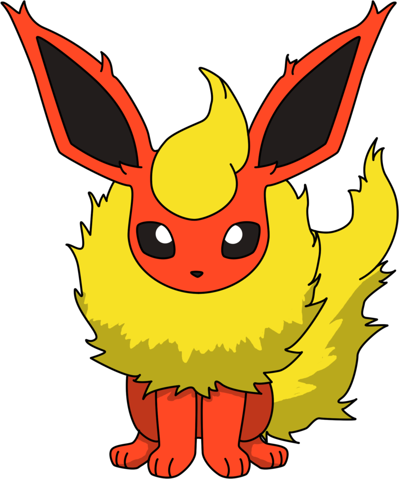 clip art download Ulog my pokemon steemkr. Flareon drawing