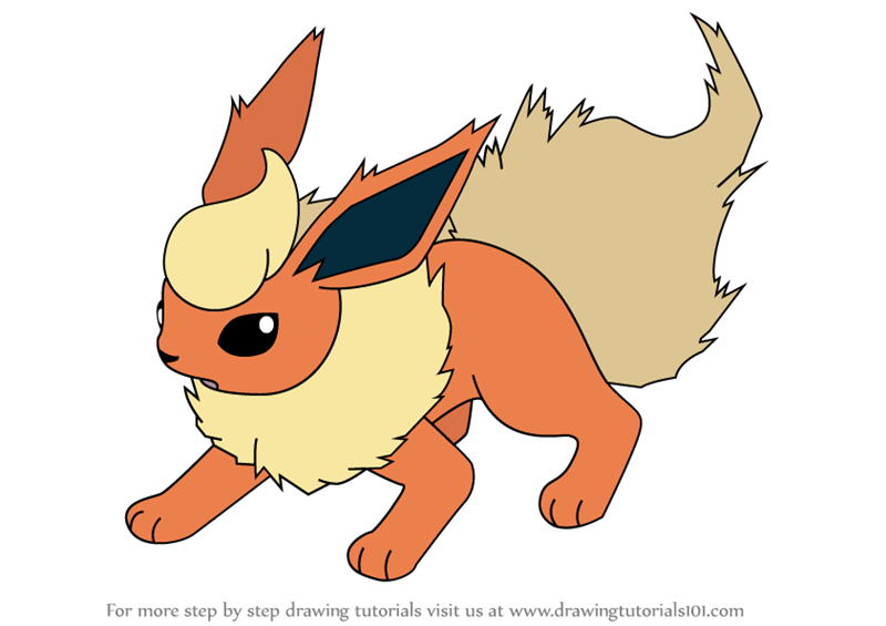 clipart freeuse Learn how to draw. Flareon drawing