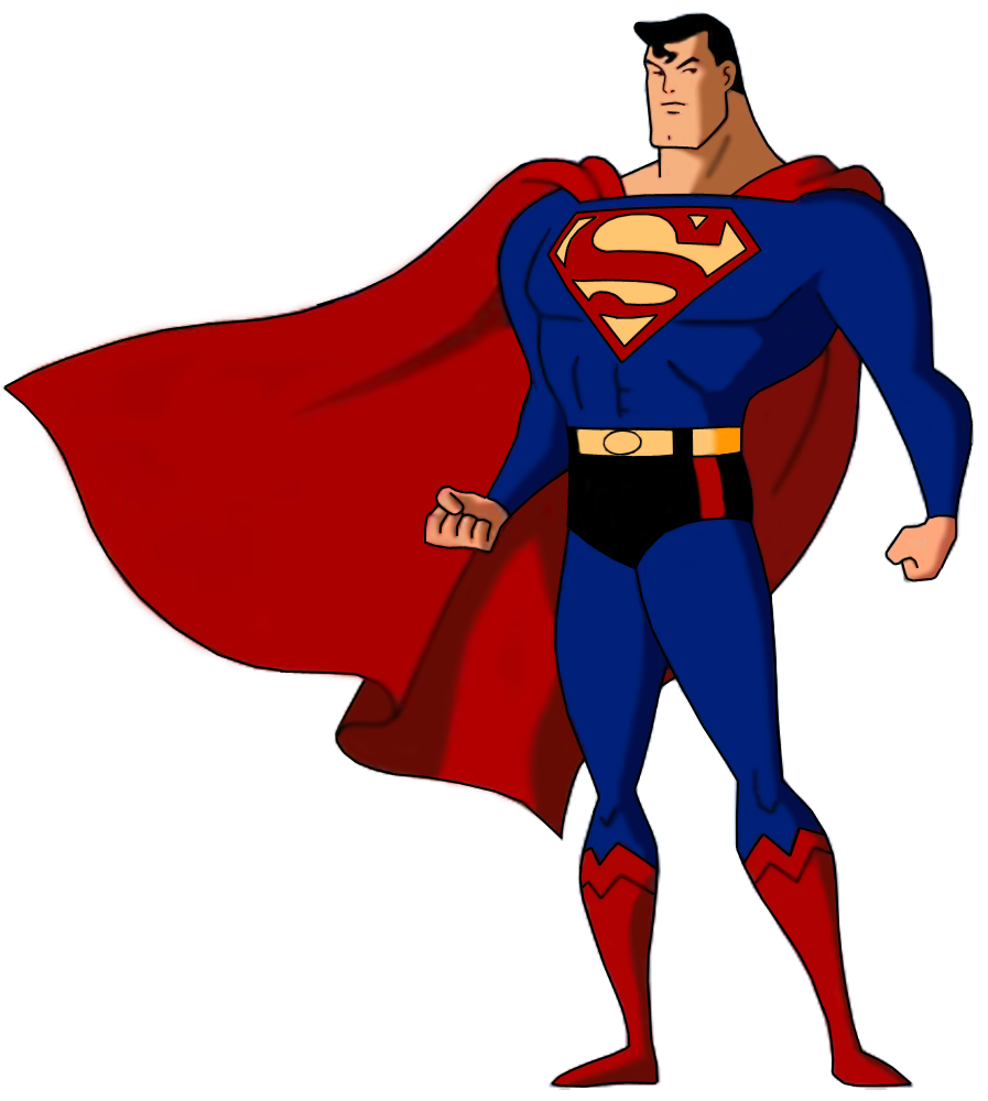 clip art freeuse library Drawing superman full body. Awegamer wikia fandom powered