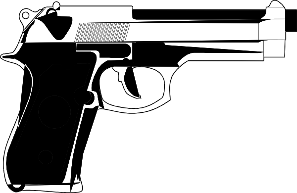 vector freeuse 9mm vector tdi. Tattoo gun clipart mm.