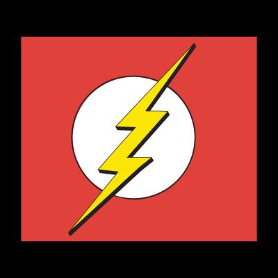 jpg library stock Vector emblem flash. Logo superhero villains and