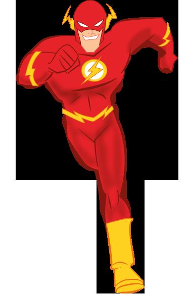clip art free stock Flash Superhero Clipart
