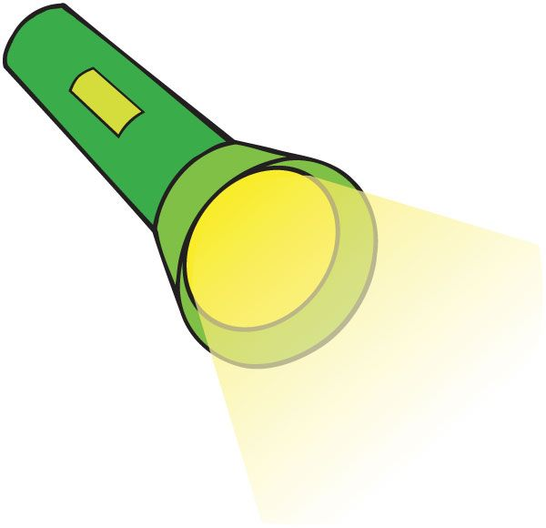 vector library download Flashlight clipart. Panda free images .