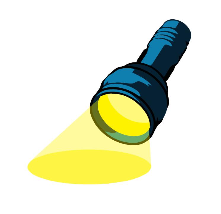clipart transparent stock Clip art cliparts . Flashlight clipart