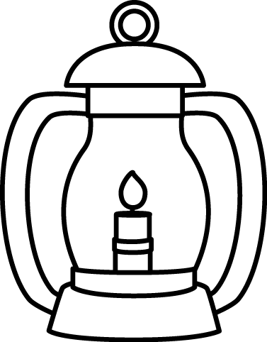 picture library library Lantern clipart hawaiian. Flashlight little free on.