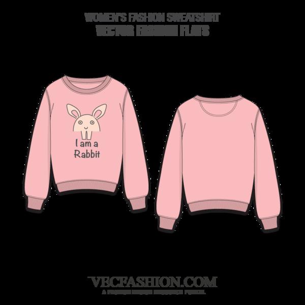 banner library stock Women Fashion Sweatshirt