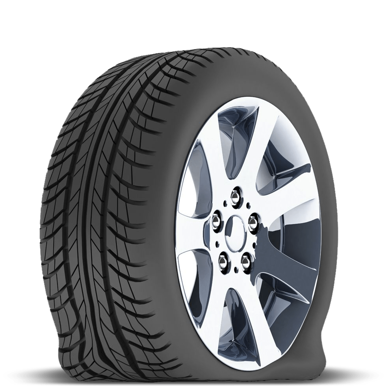 freeuse download flat tire clipart #67921720